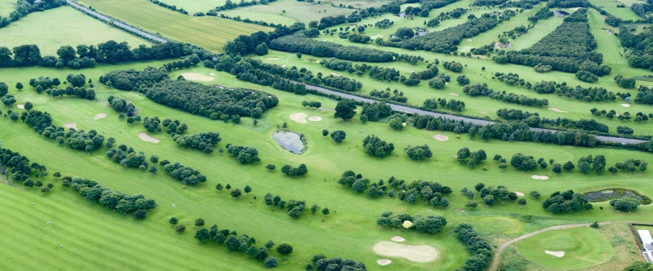 Newbridge Golf Club - Bird's Eye View