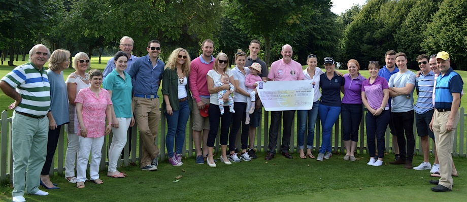 Fundraiser for Crumlin Hospital, June 2016, Newbridge Golf Club