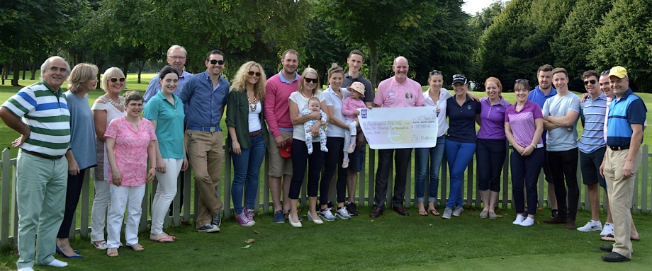 Fundraiser for Crumlin Hospital, June 2016, Newbridge Golf Club