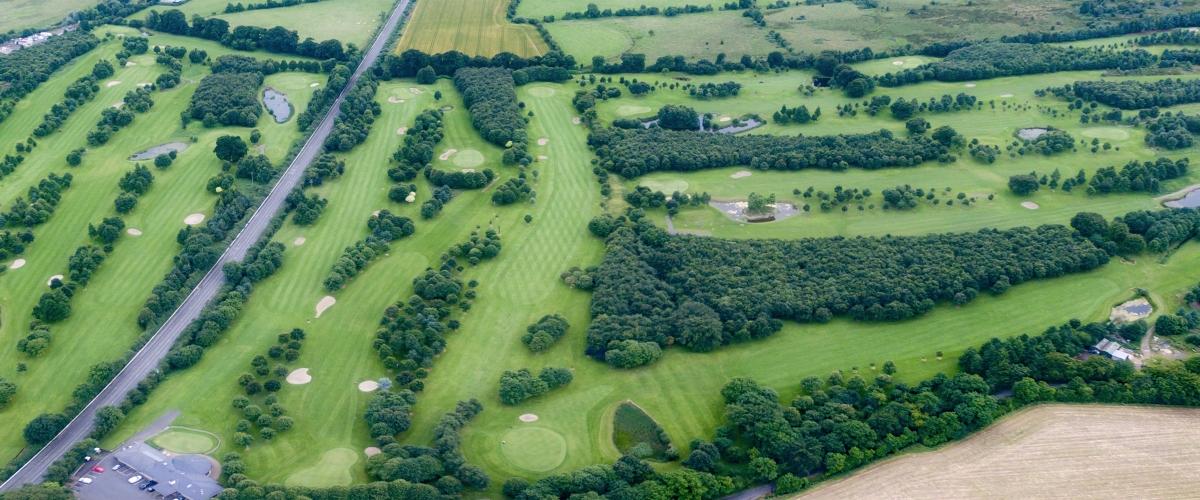 Newbridge Golf Club - Bird's Eye View