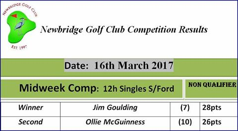 03.16 Midweek Competition
